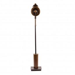 Koetslamp mortierhuls vloerlamp