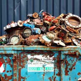 Container gebruikt staal