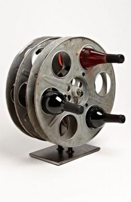 Film reel wijnrek