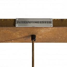 Onveerstaanbaar plafondplaat roest