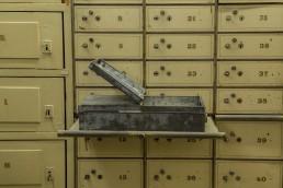 Kluis close-up locker